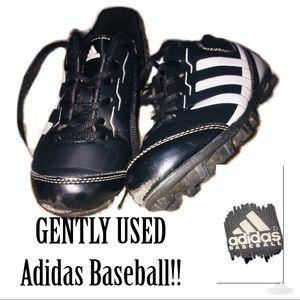 ‼️🔥GENTLY USED ADIDAS BASEBALL Cleats!🔥‼️